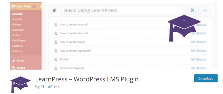 LearnPress LMS WordPress Plugin