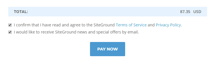 Siteground TOC