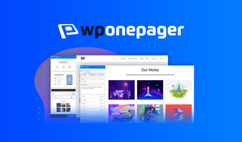 WPOnePager