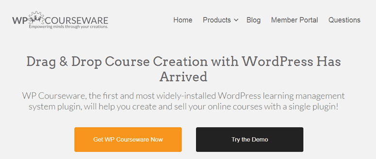 WPcourseware WordPress LMS Plugin